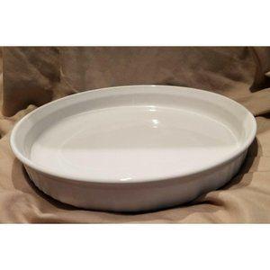 Round 24cm Corning Ware White Dishe BT428